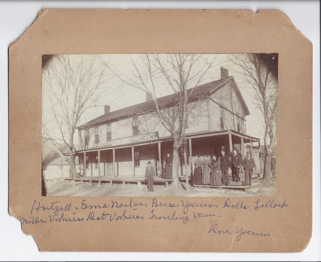 Union Hotel, Rossville, Kansas