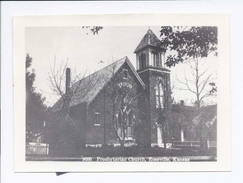 Presbyterian church, Rossville, Kansas