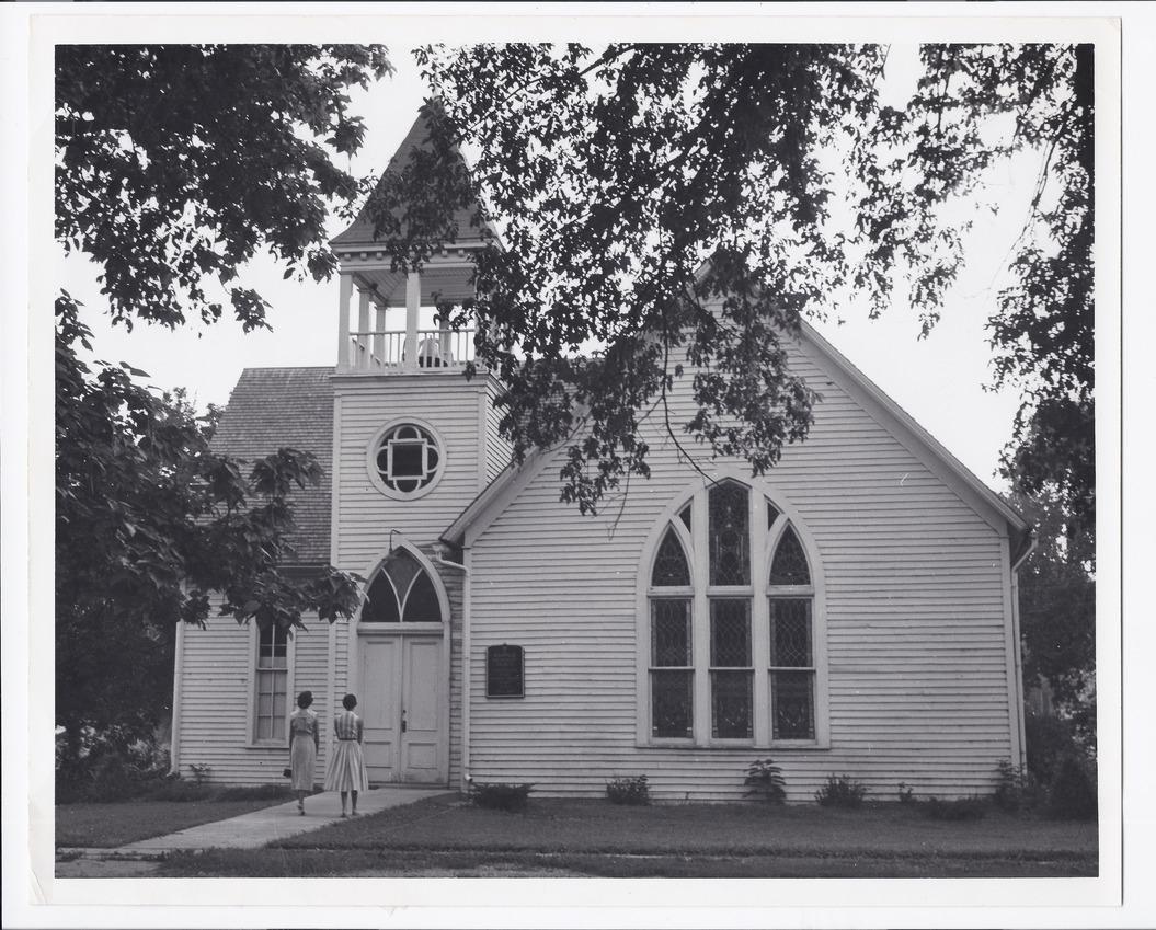 Methodist church, Rossville, Kansas