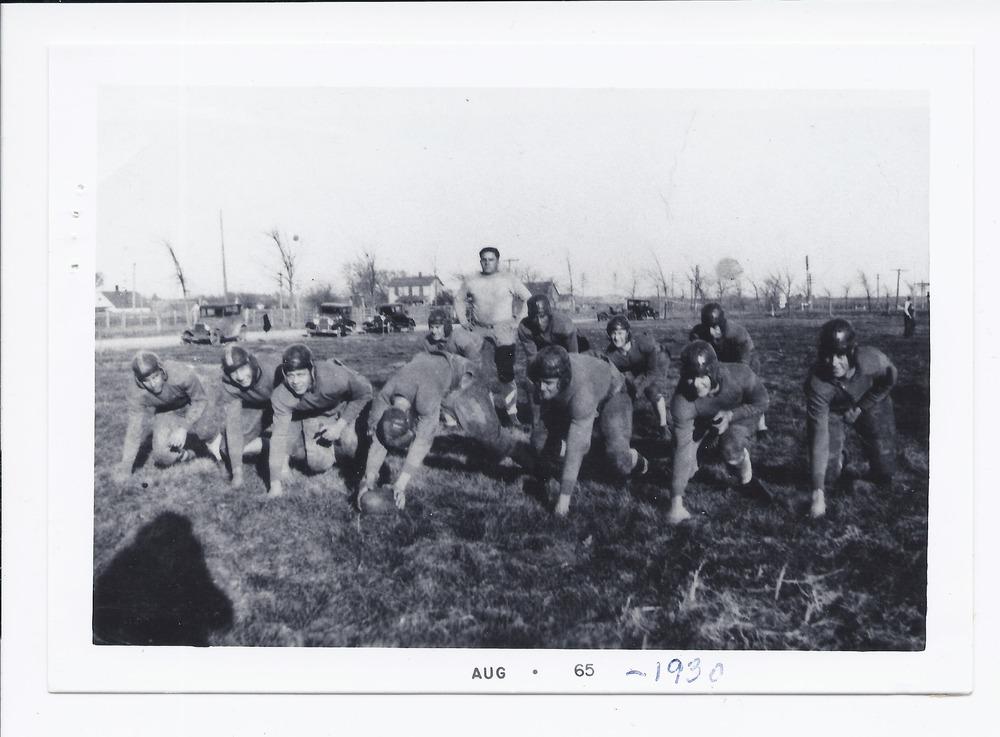 Rossville High School football team, Rossville, Kansas - 1