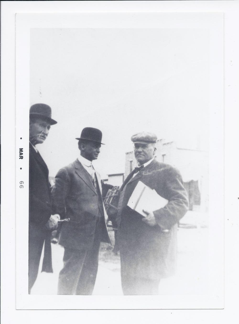 School board members of 1911, Rossville, Kansas - 1