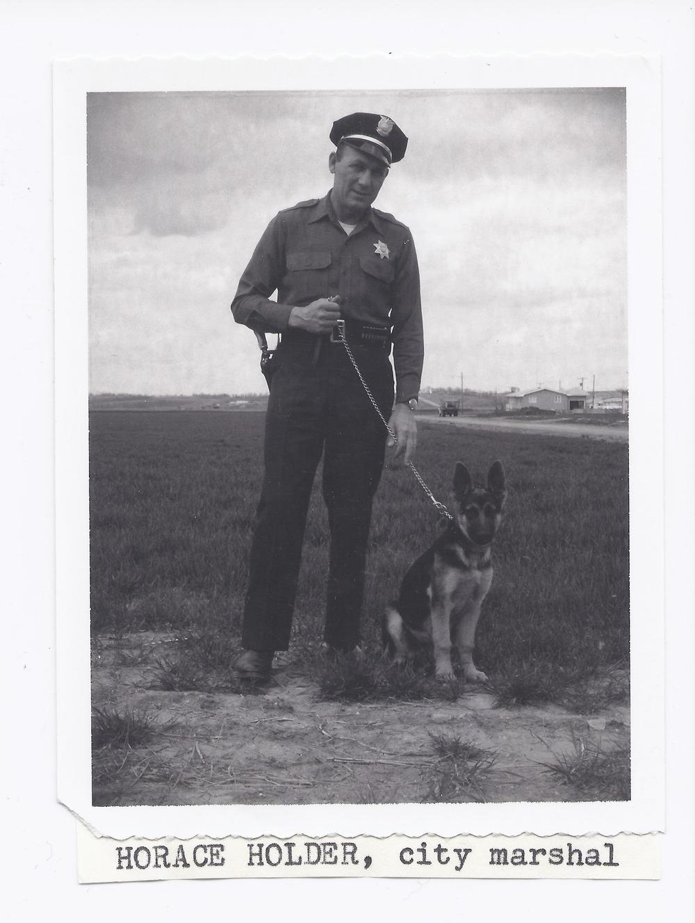 Horace Holder, Rossville, Kansas - 1