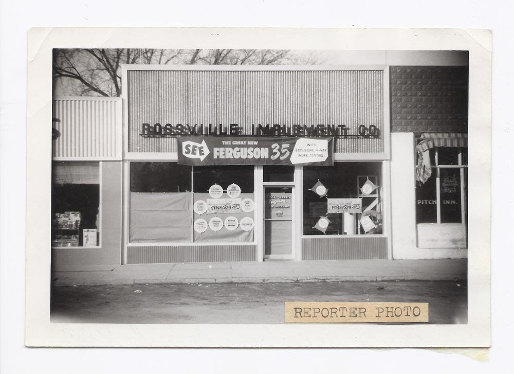 Rossville Implement Company, Rossville, Kansas