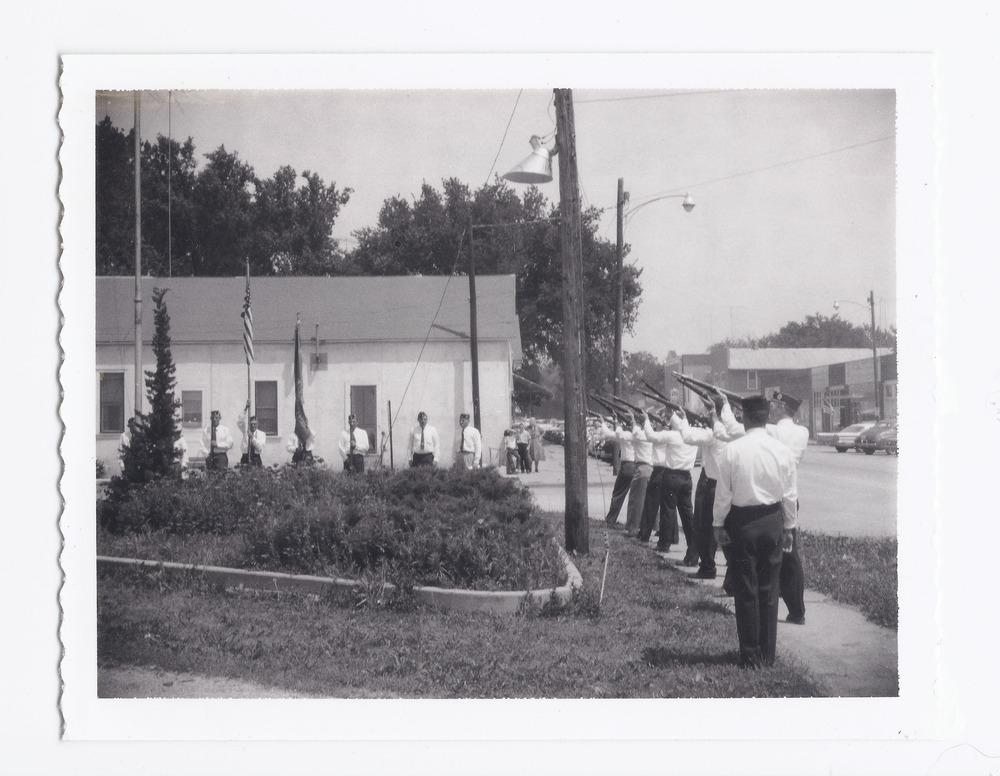 American Legion members, Rossville, Kansas - 1