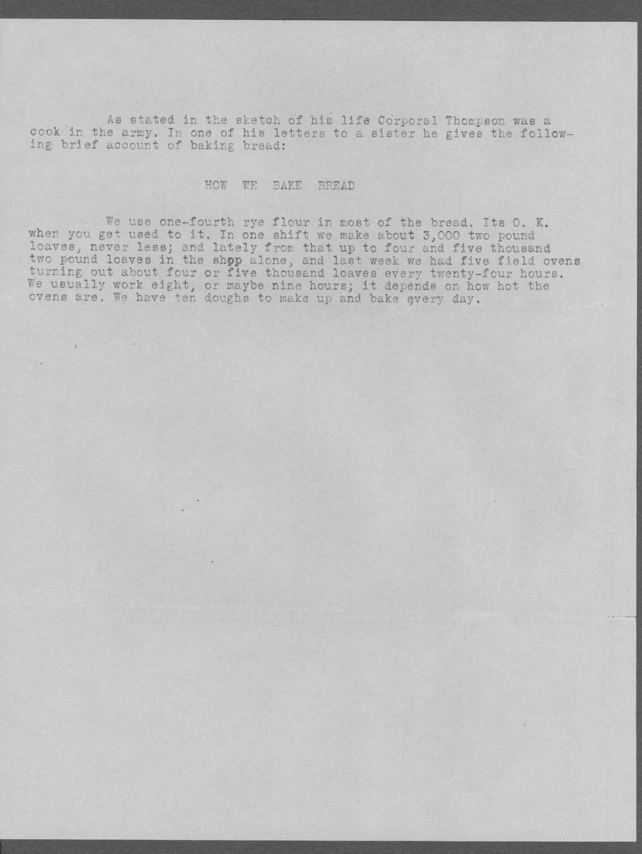 Harlan Clare Thompson, World War I soldier - 7