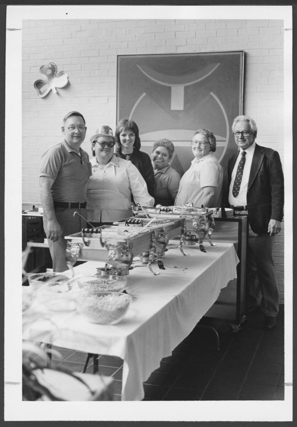 Menninger Clinic food services staff, Topeka, Kansas