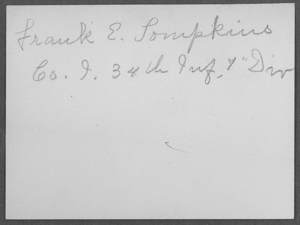 Frank E. Tompkins, World War I soldier - 2