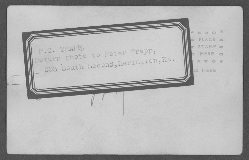 Peter C. Trapp, World War I soldier - 2
