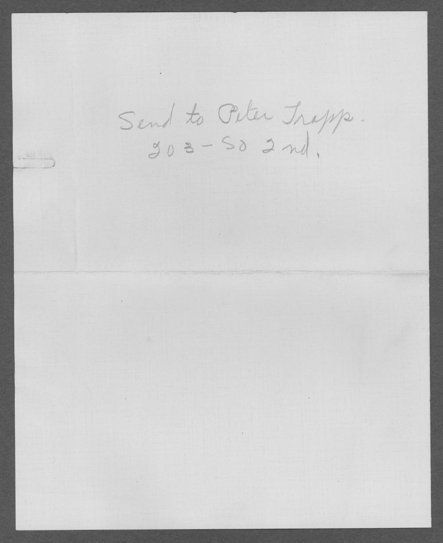 Peter C. Trapp, World War I soldier - 5