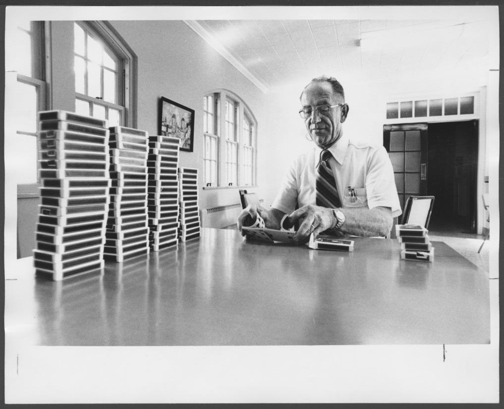 James Pratt at Menninger Clinic, Topeka, Kansas