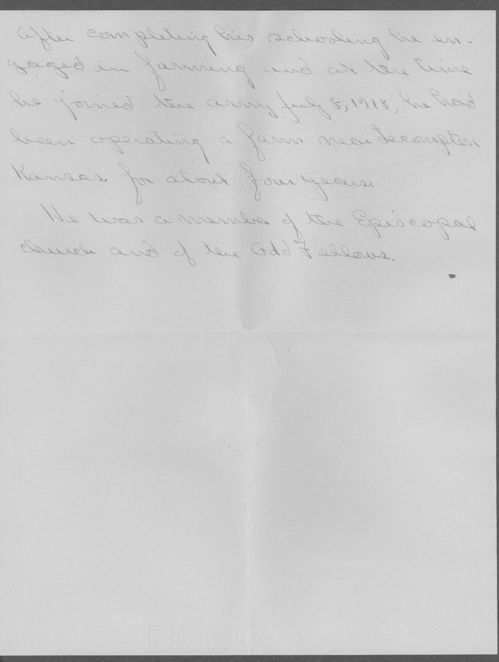 John Tupper, World War I soldier - 8