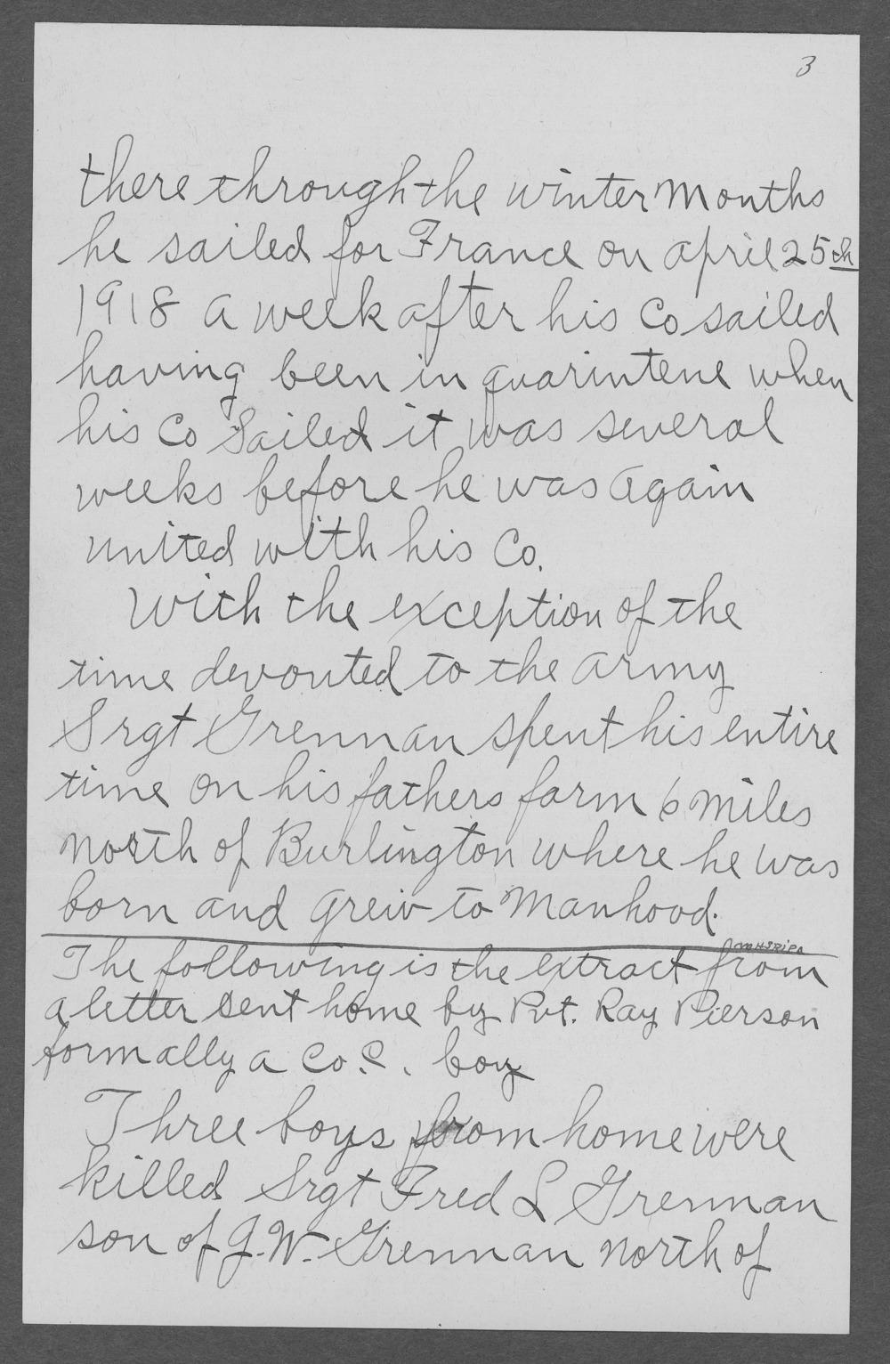 Fred Lawrence Grennan, World War I soldier - 8