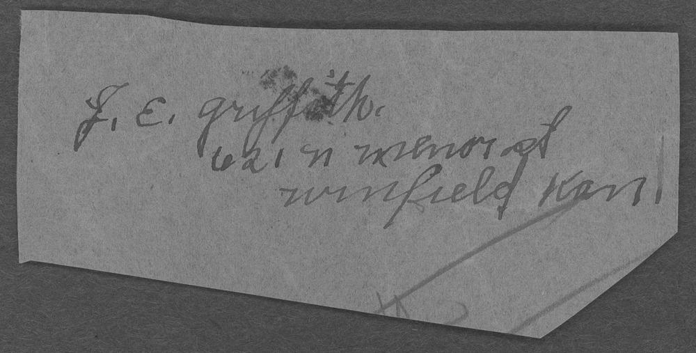 Elmer C. Griffith, World War I soldier - 4