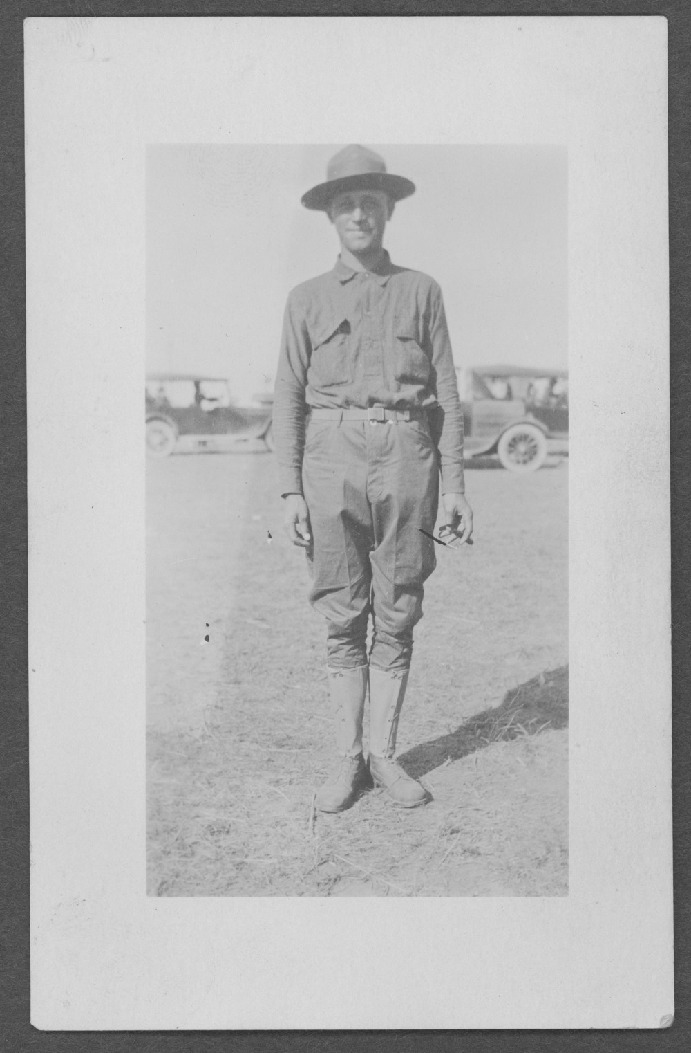 Ortwin Mueller, World War I soldier - 1