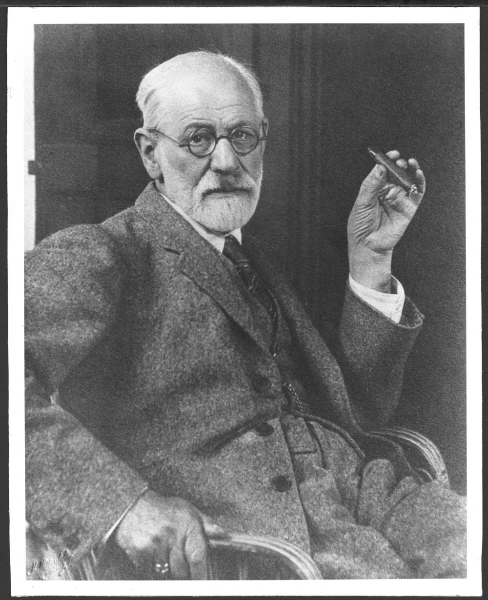 Sigmund Freud with cigar