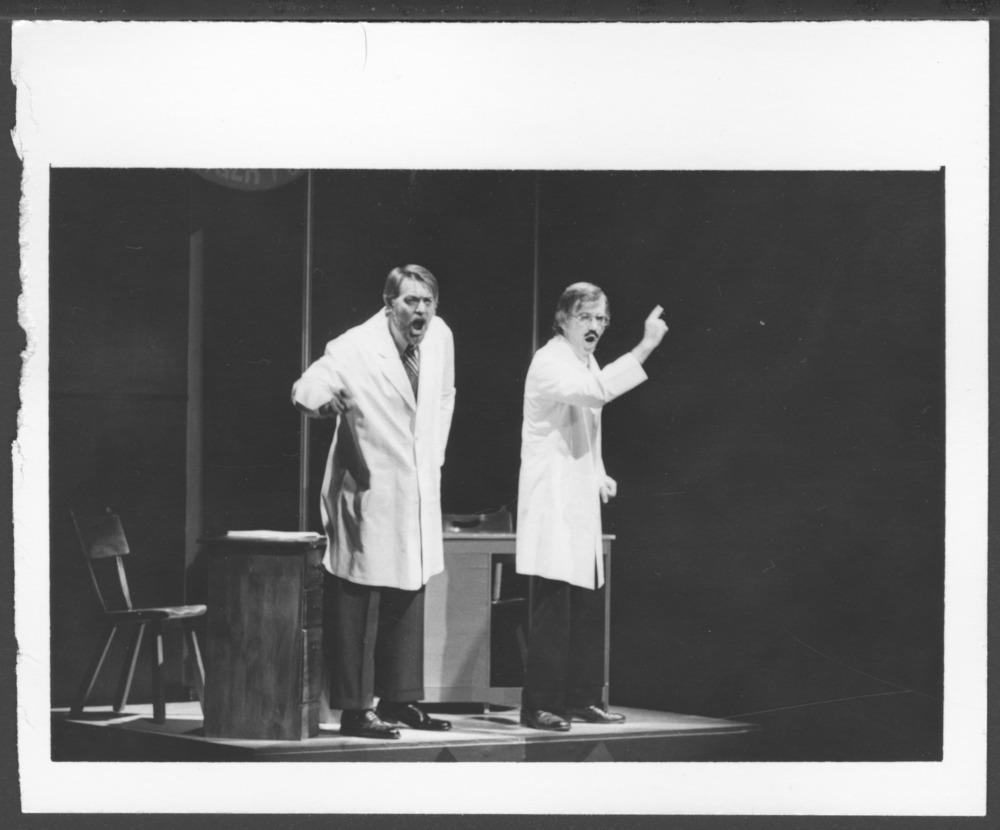 """Fifty Grand"" follies at the Menninger Clinic, Topeka, Kansas"
