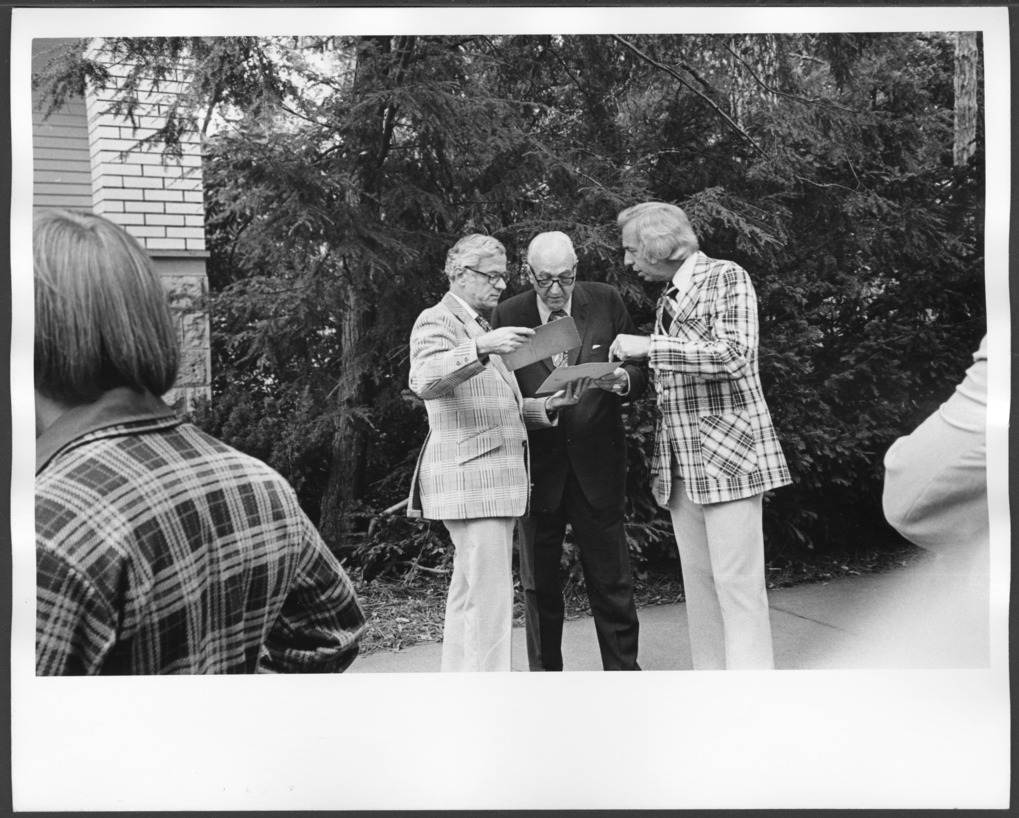 Re-dedication of the Menninger Clinic in Topeka, Kansas