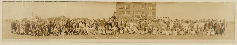 Consolidated school in Minneola, Kansas