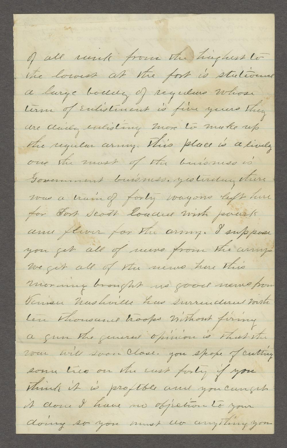 Aiken J. Sexton correspondence - 3