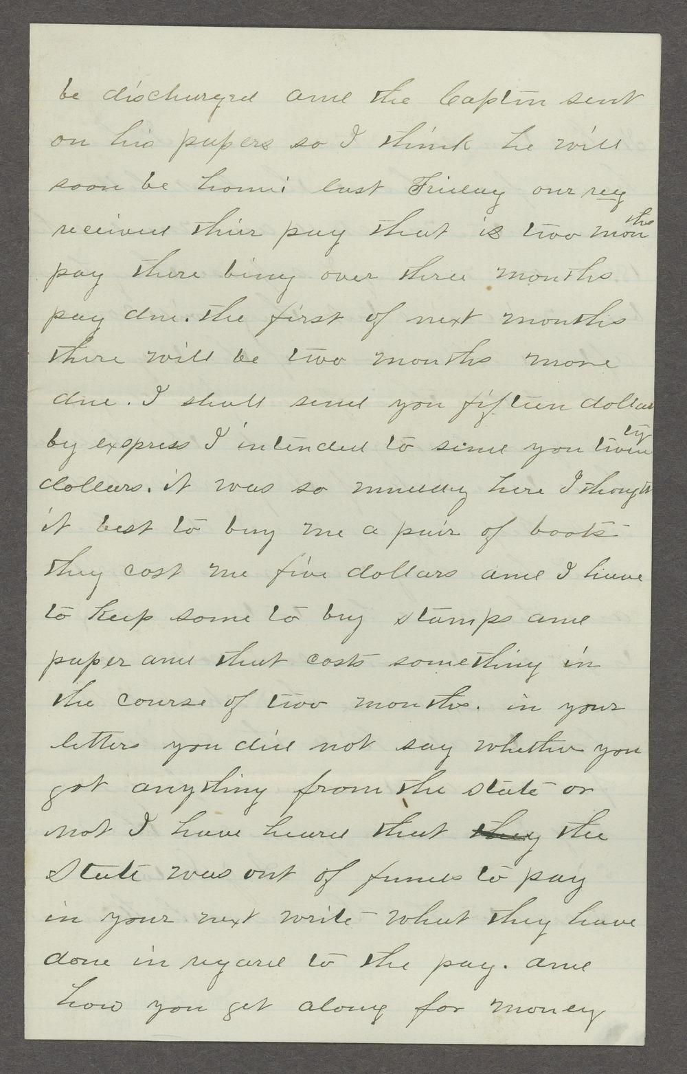 Aiken J. Sexton correspondence - 11