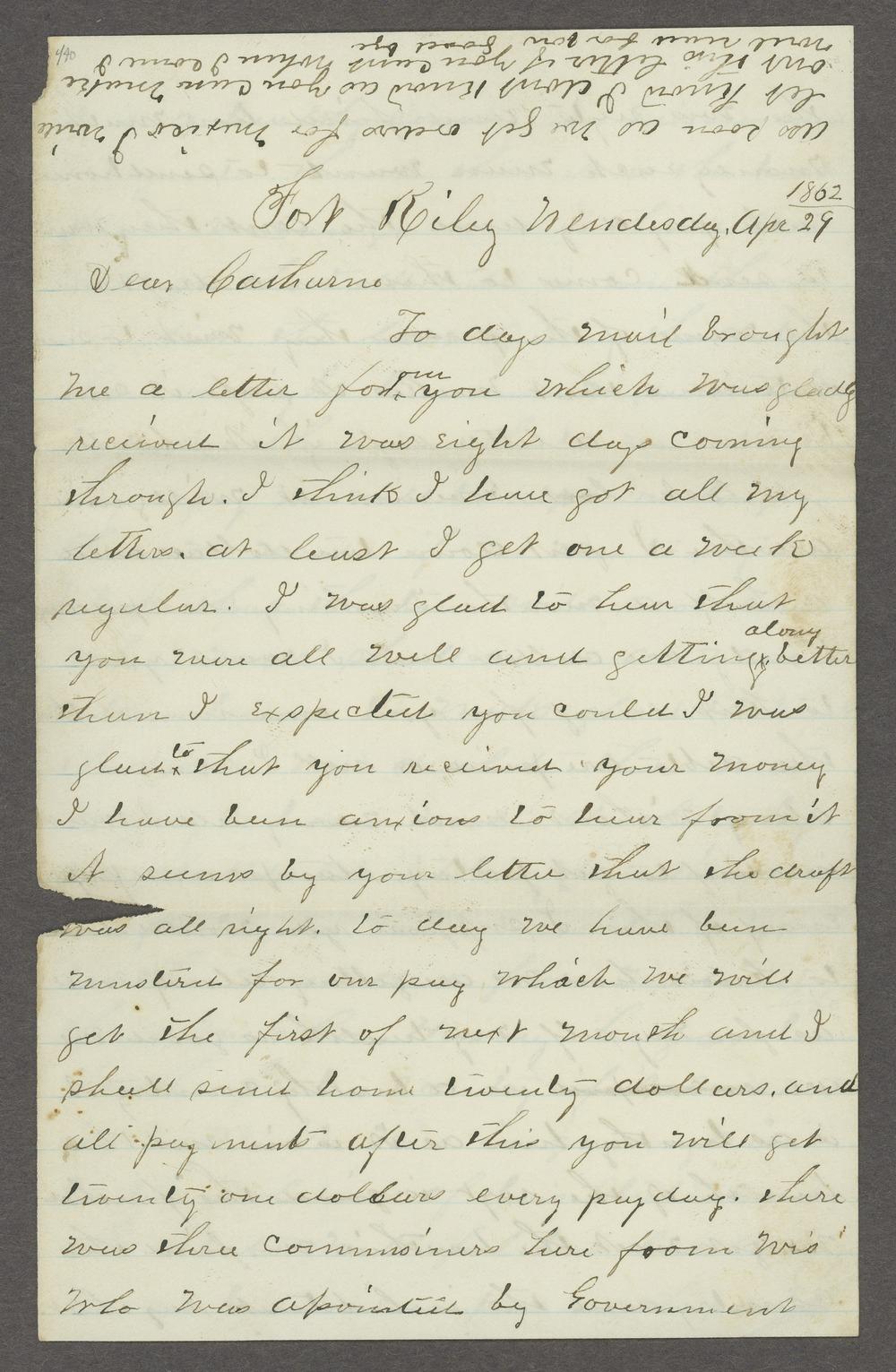 Aiken J. Sexton correspondence - 13