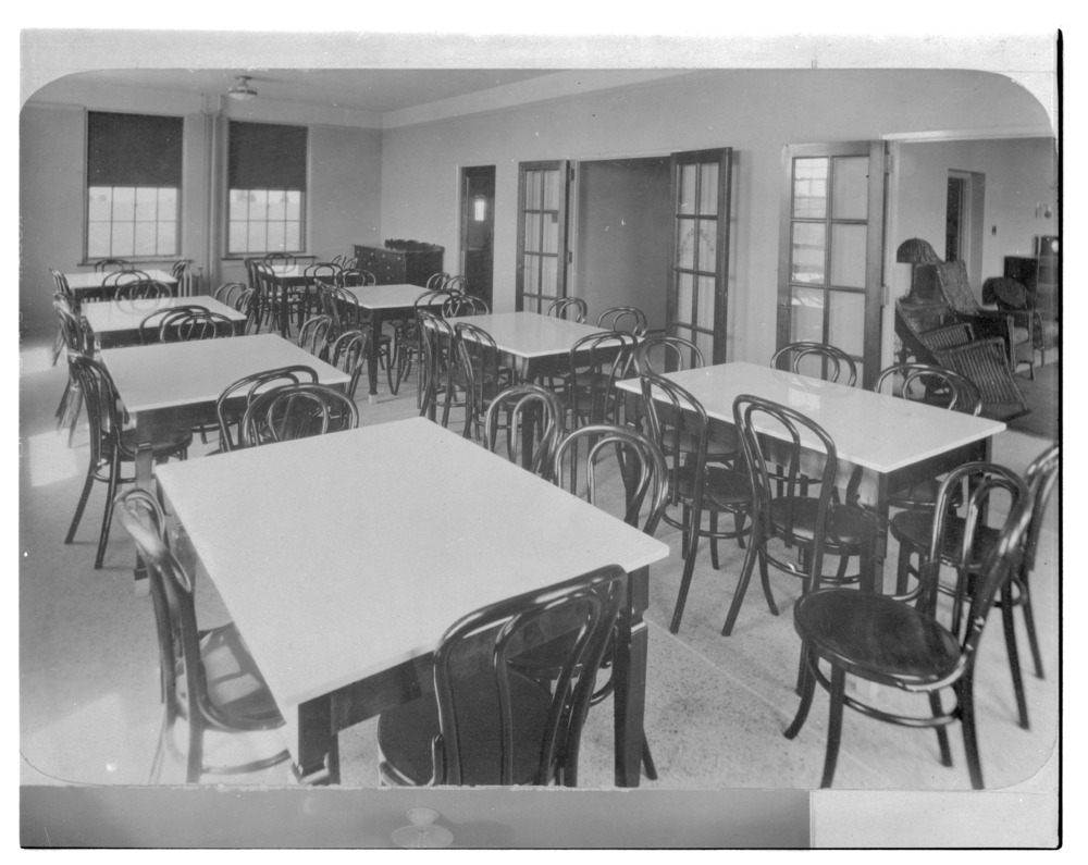 Pantry, kitchen, and dining room of the Security Benefit Association hospital in Topeka, Kansas - 3