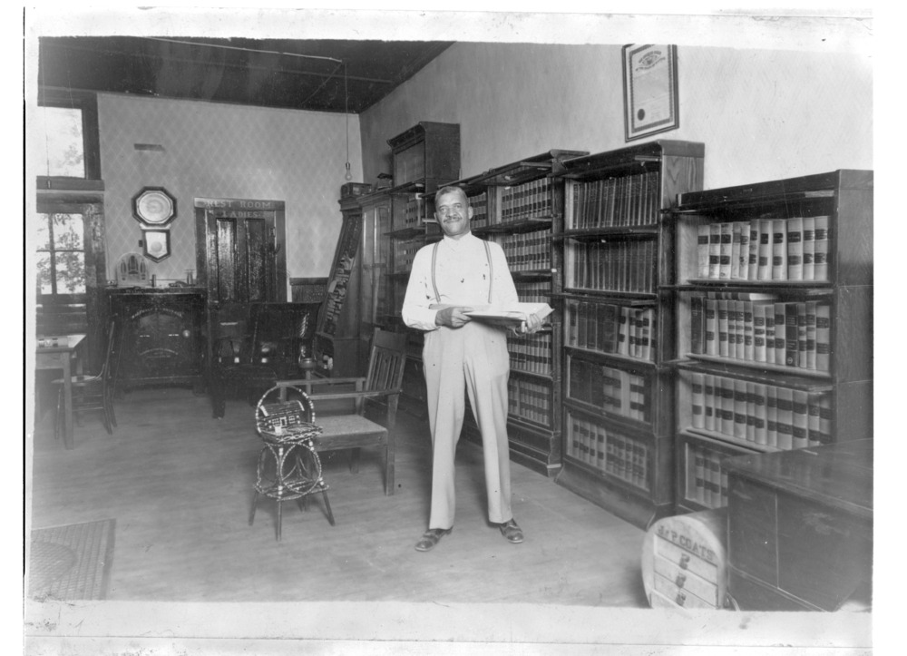 William L. Sayers in Hill City, Kansas - 1