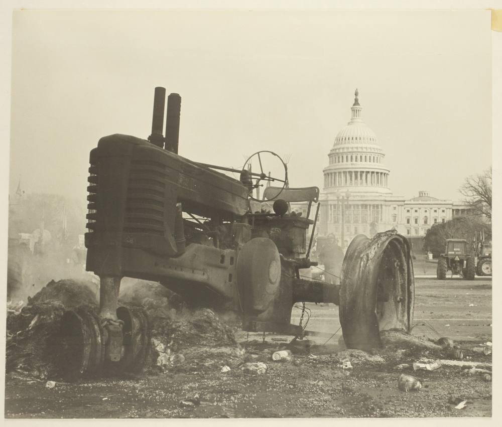 American Agriculture Movement protest in Washington, D. C.