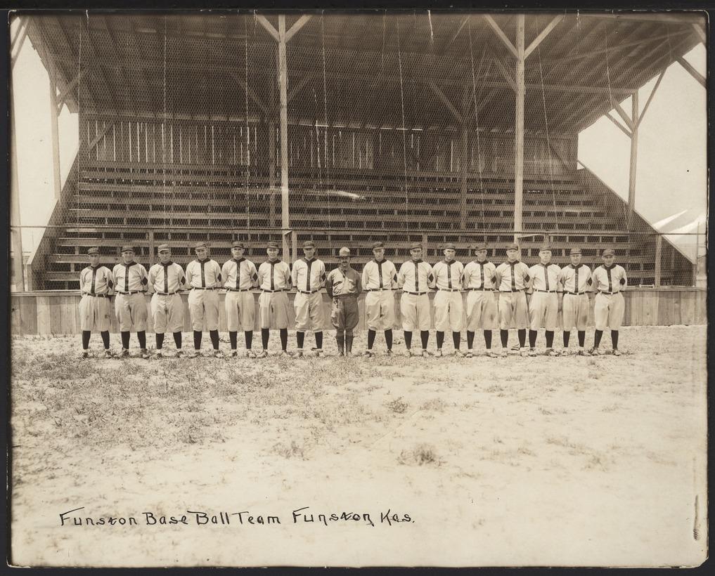 Camp Funston baseball team, Geary County, Kansas - 1