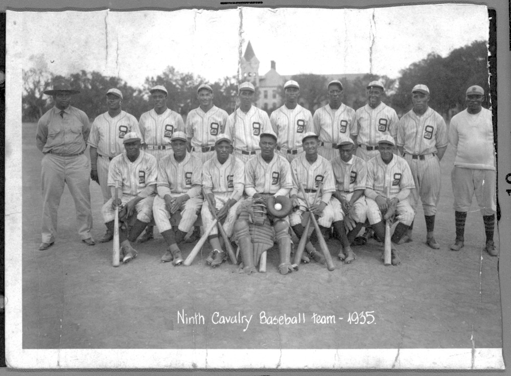 Ninth Cavalry baseball team, Fort Riley, Geary County, Kansas