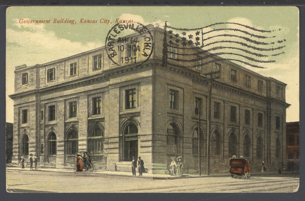 Government building and post office in Kansas City, Kansas - 1