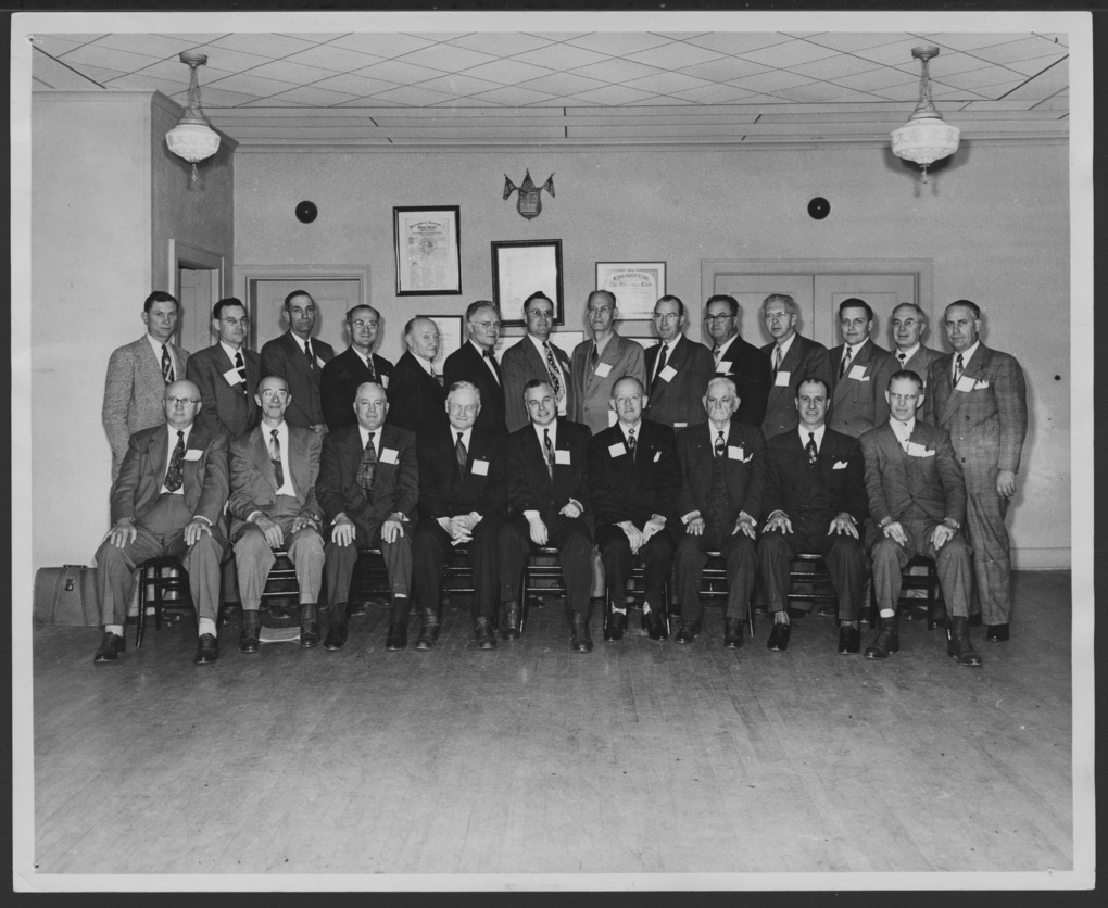 Governor's training conference at McPherson, Kansas