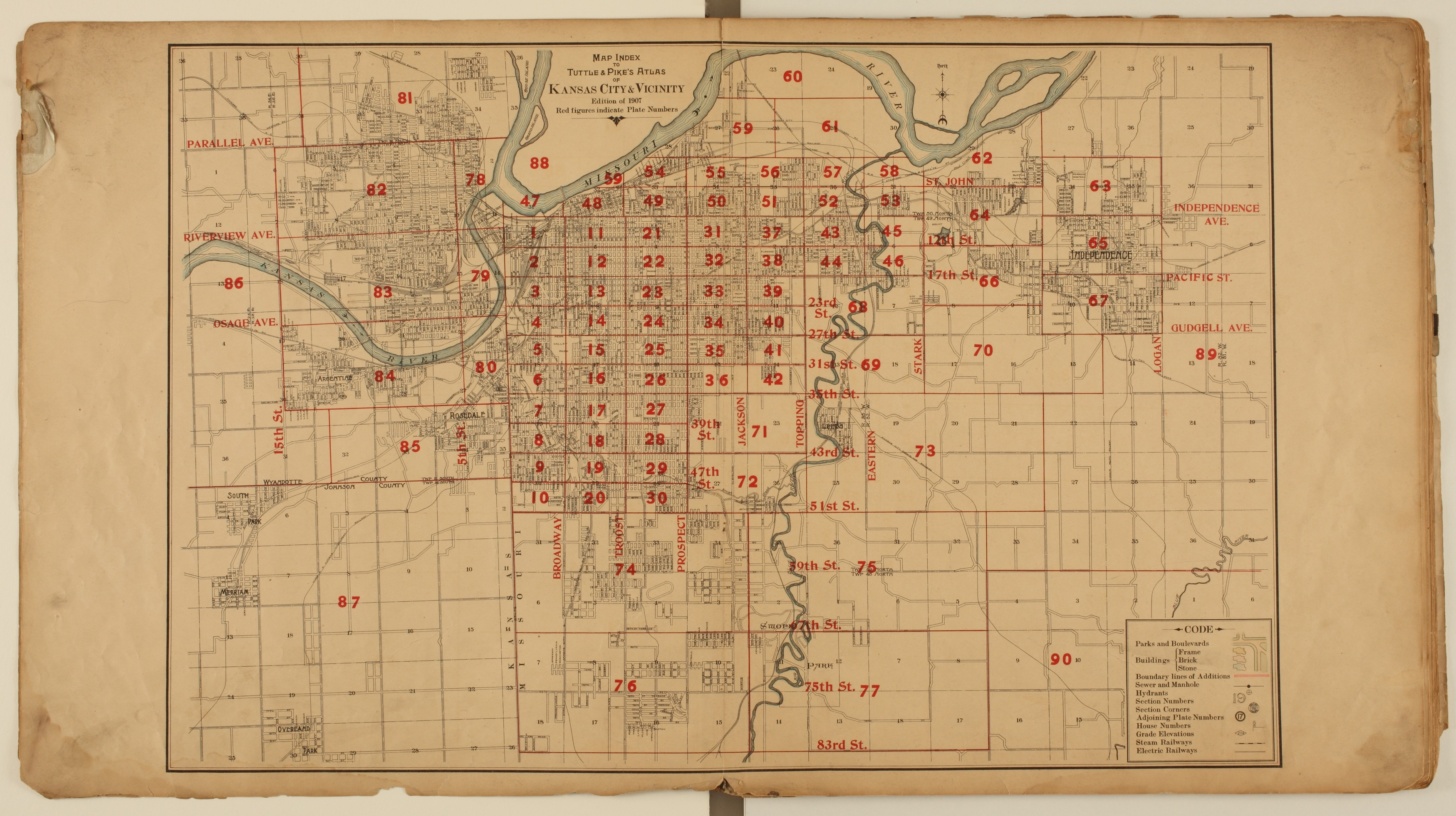 Tuttle and Pike's atlas of Kansas City, Kansas - 3