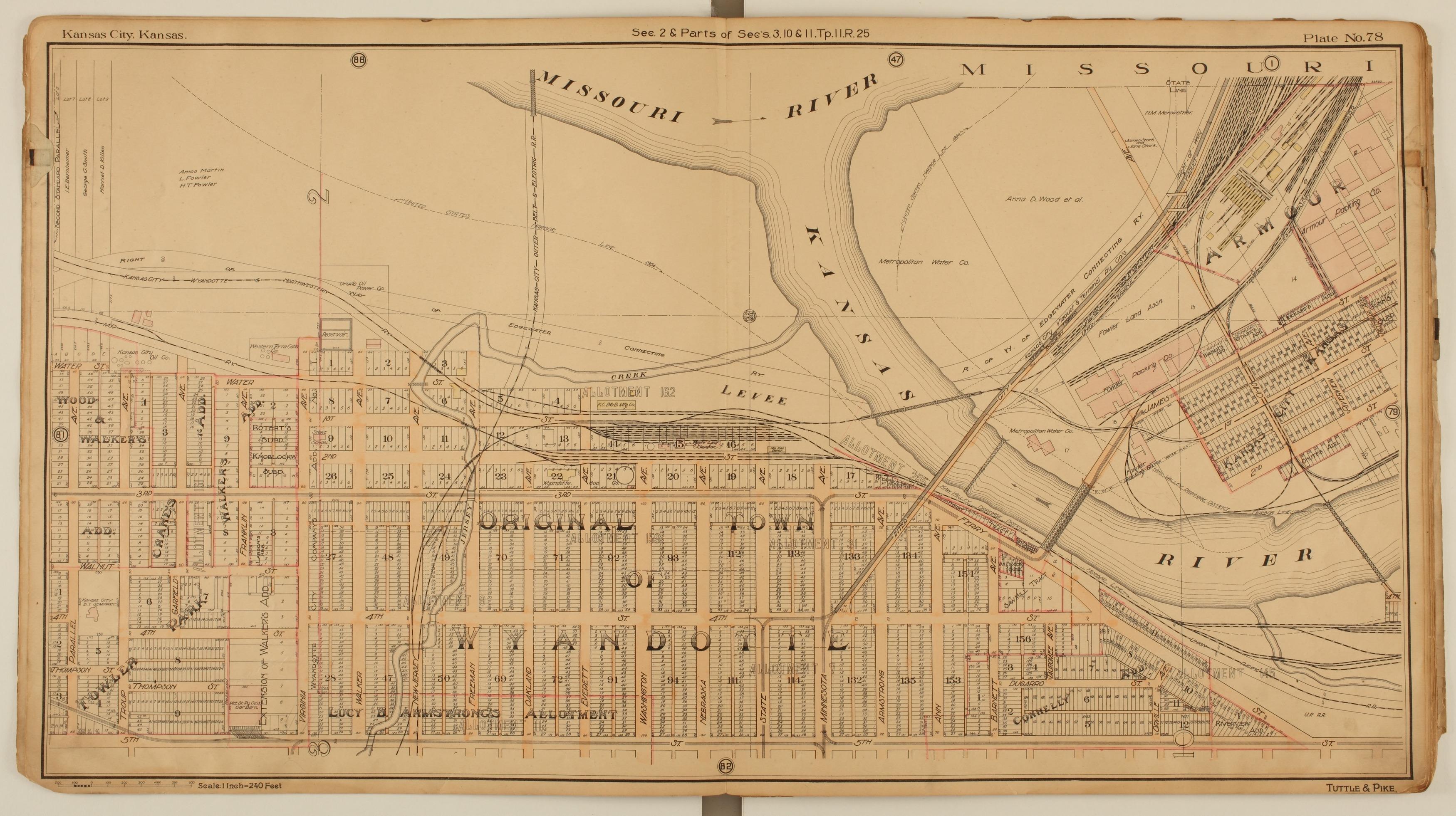 Tuttle and Pike's atlas of Kansas City, Kansas - 4