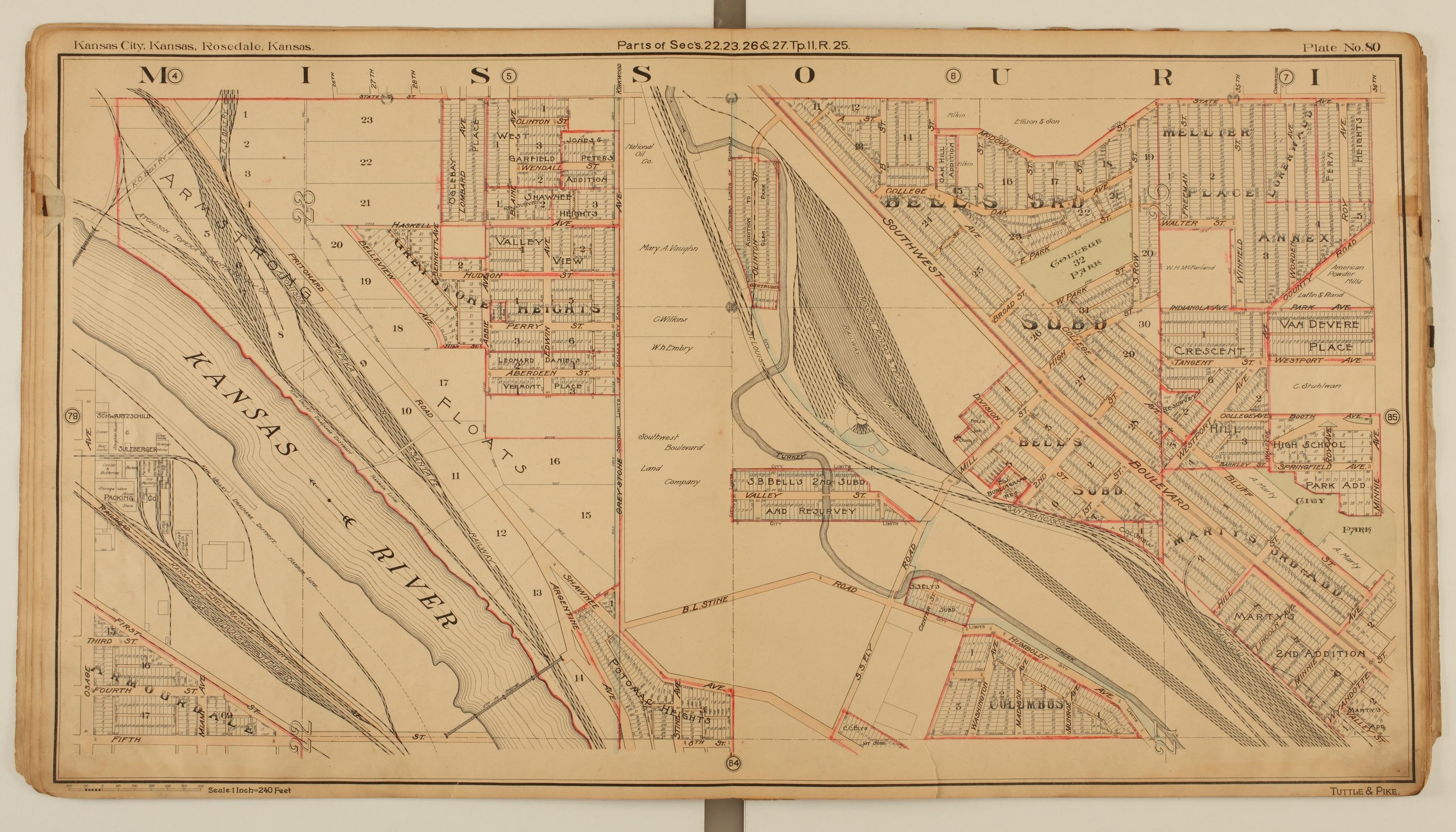 Tuttle and Pike's atlas of Kansas City, Kansas - 6