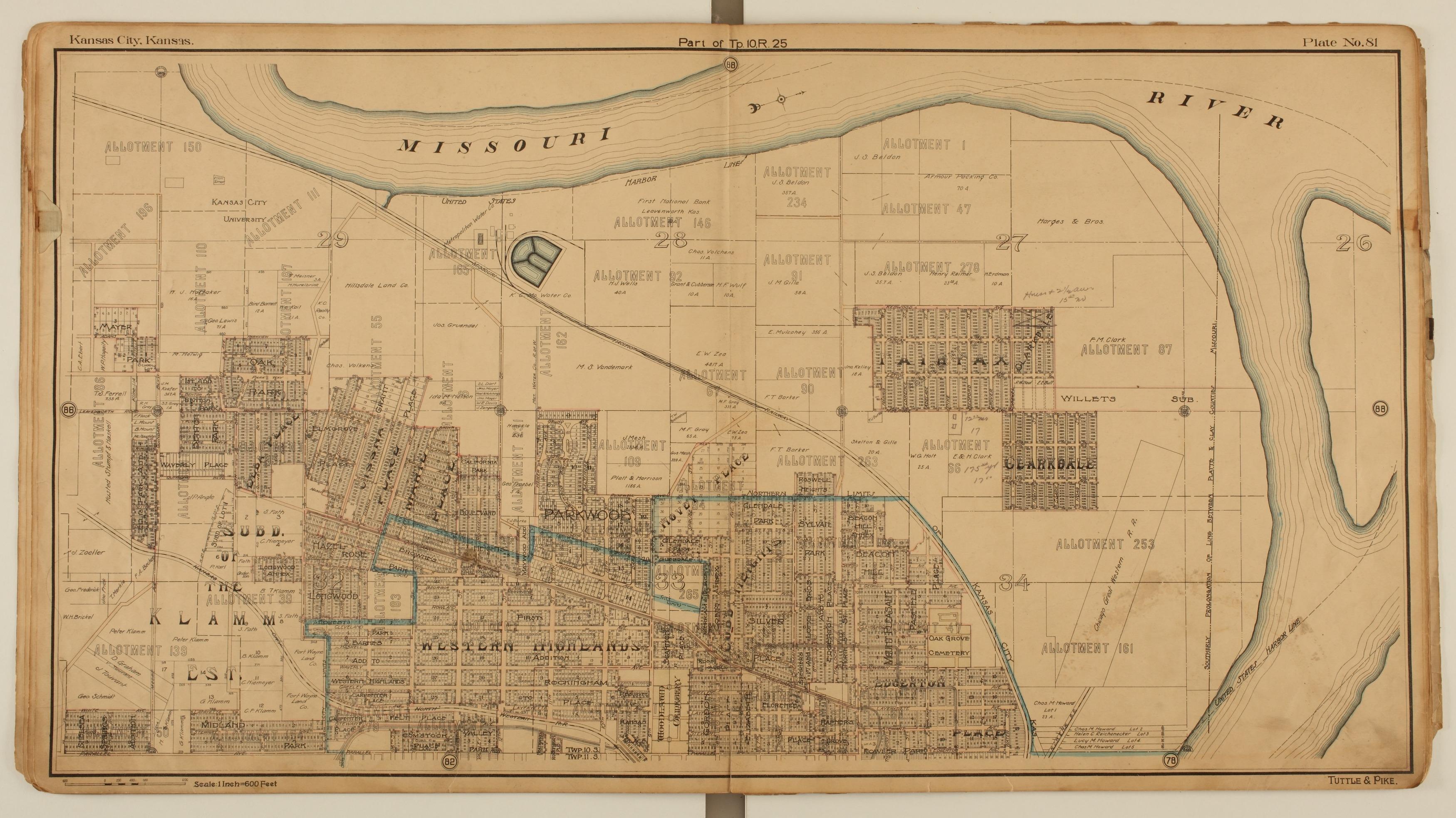 Tuttle and Pike's atlas of Kansas City, Kansas - 7