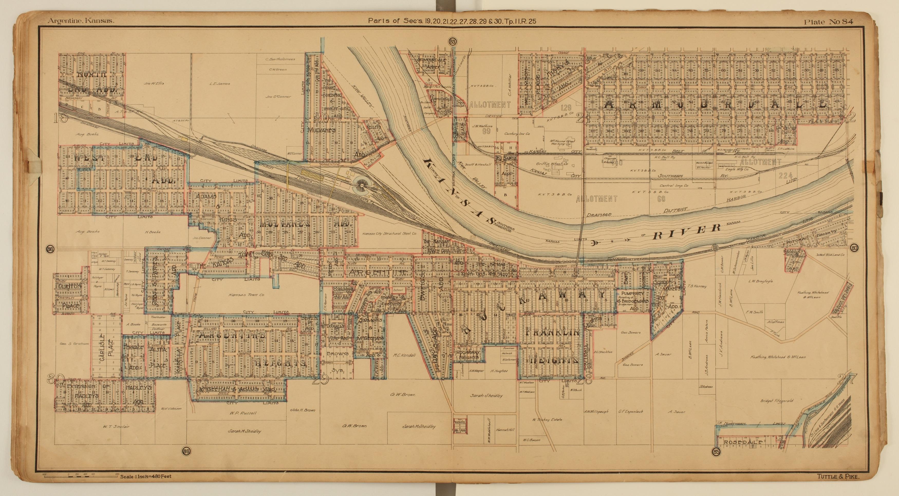 Tuttle and Pike's atlas of Kansas City, Kansas - 10