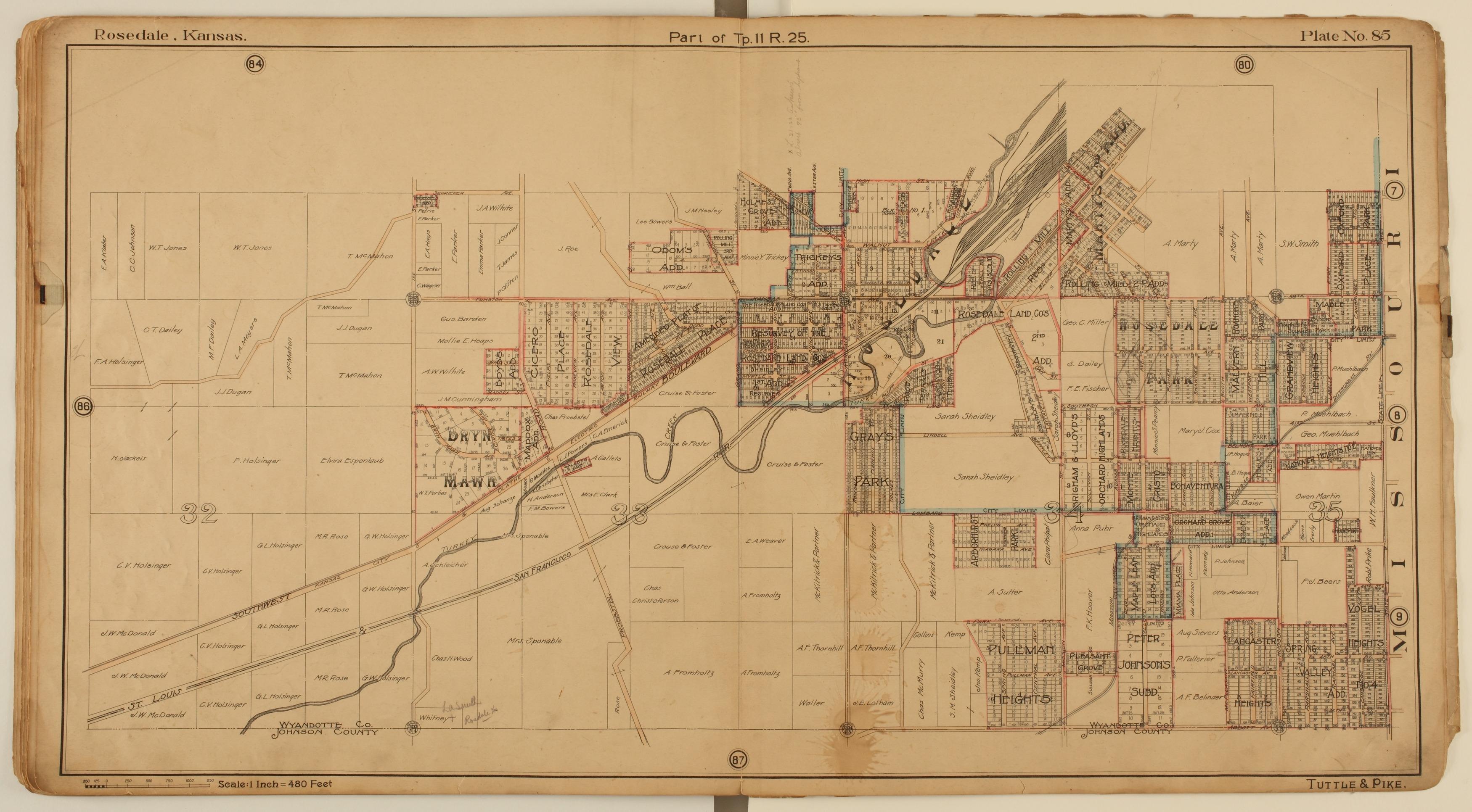 Tuttle and Pike's atlas of Kansas City, Kansas - 11