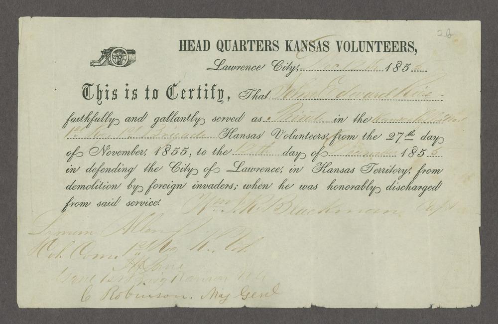 Draft of the Wakarusa treaty - 8