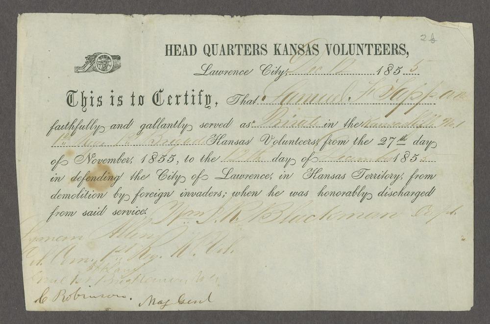 Draft of the Wakarusa treaty - 9