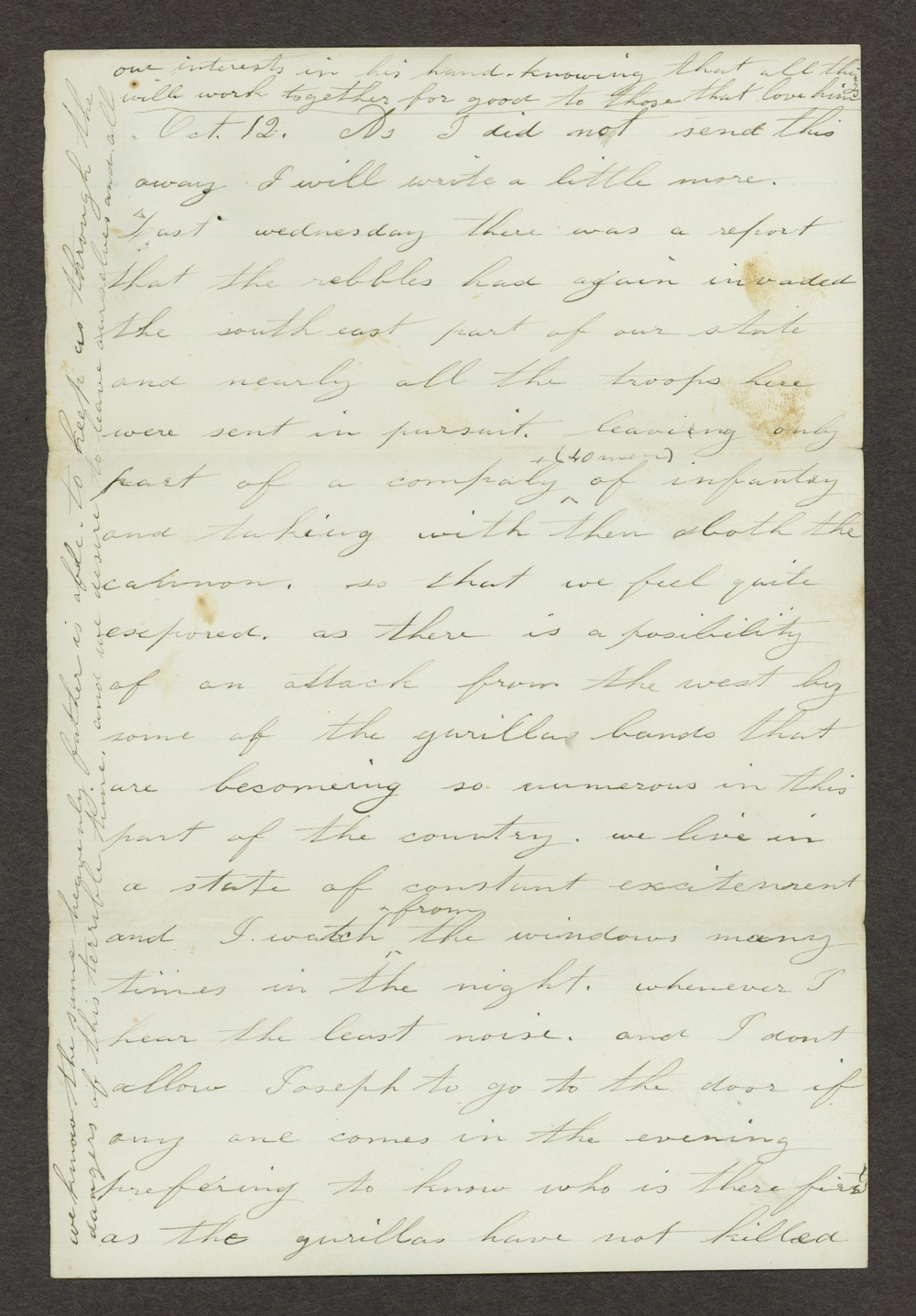 Mary Savage correspondence - 5