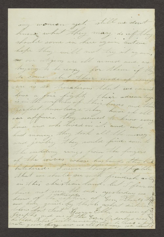 Mary Savage correspondence - 6