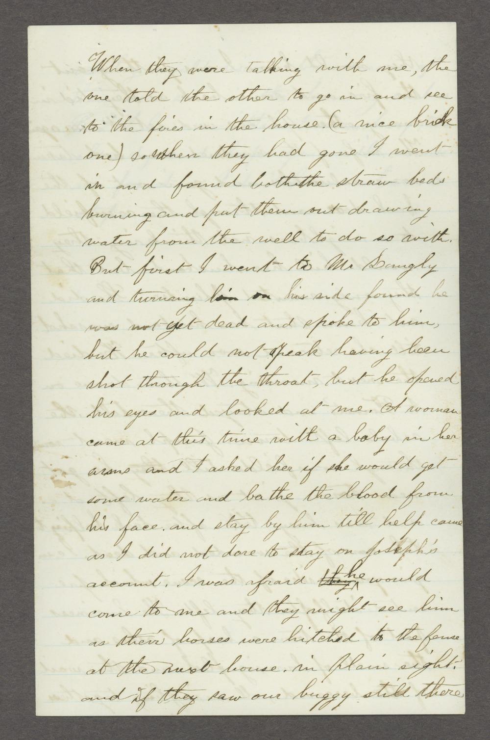 Mary Savage correspondence - 11