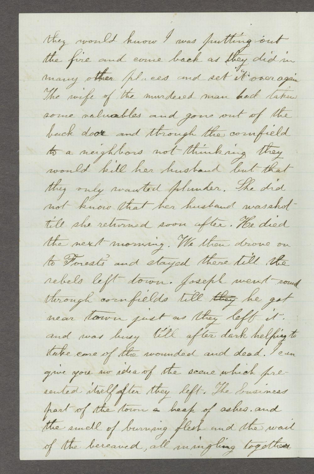 Mary Savage correspondence - 12