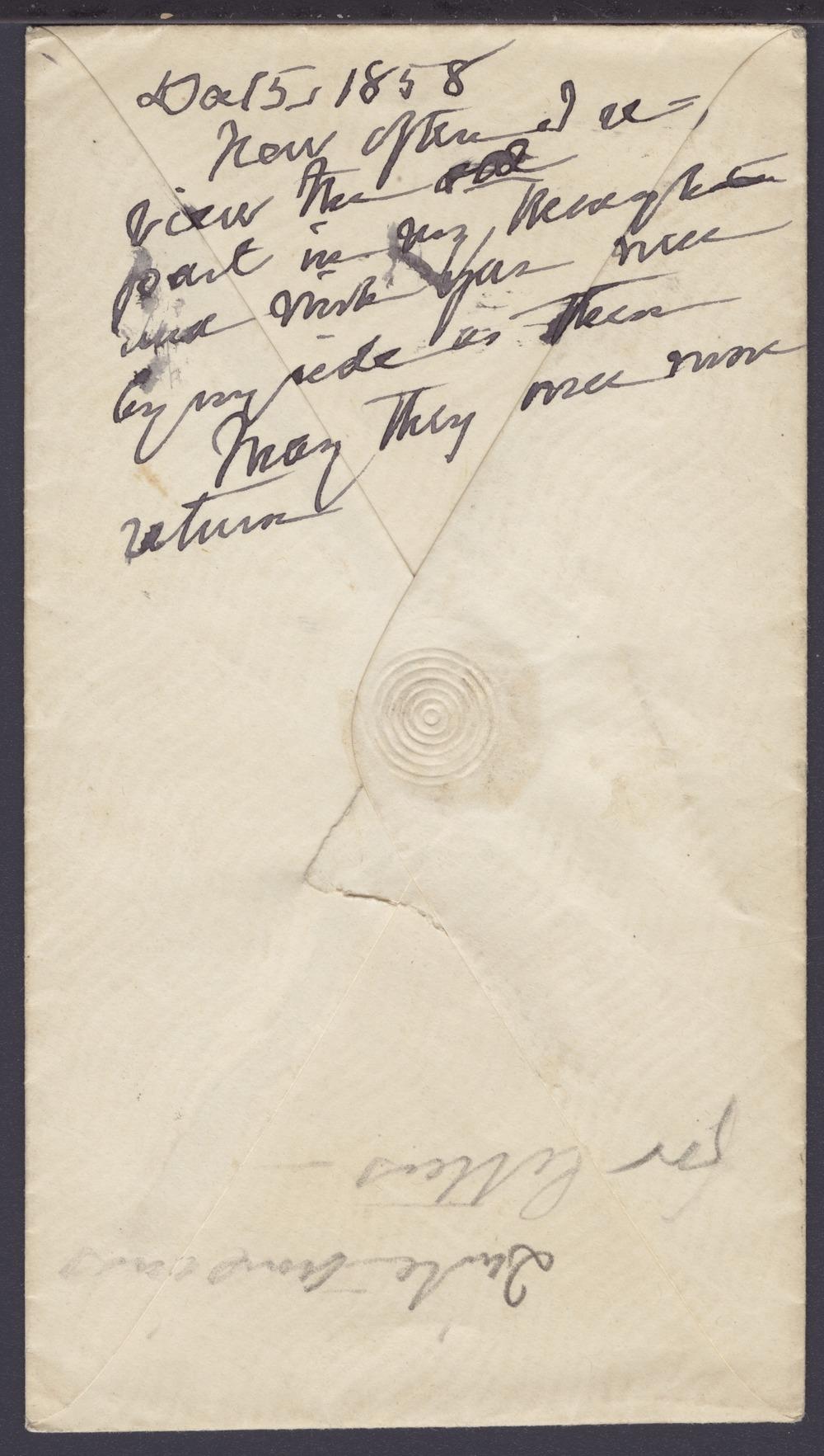 Envelope addressed to Sara Tappan Doolittle Robinson - 2