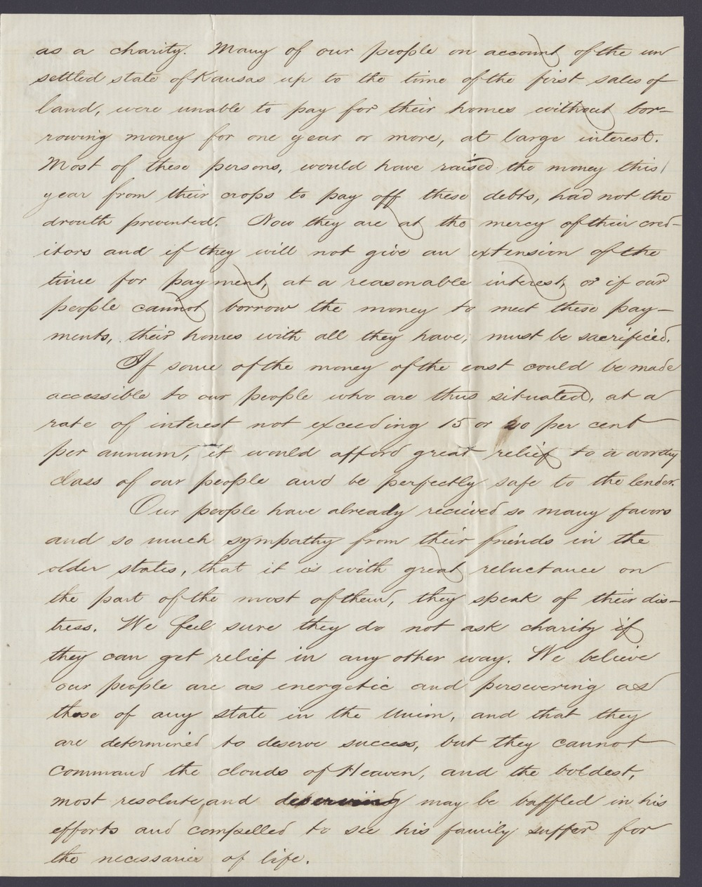 Charles Robinson and James M. Winchell to William H. Seward - 3