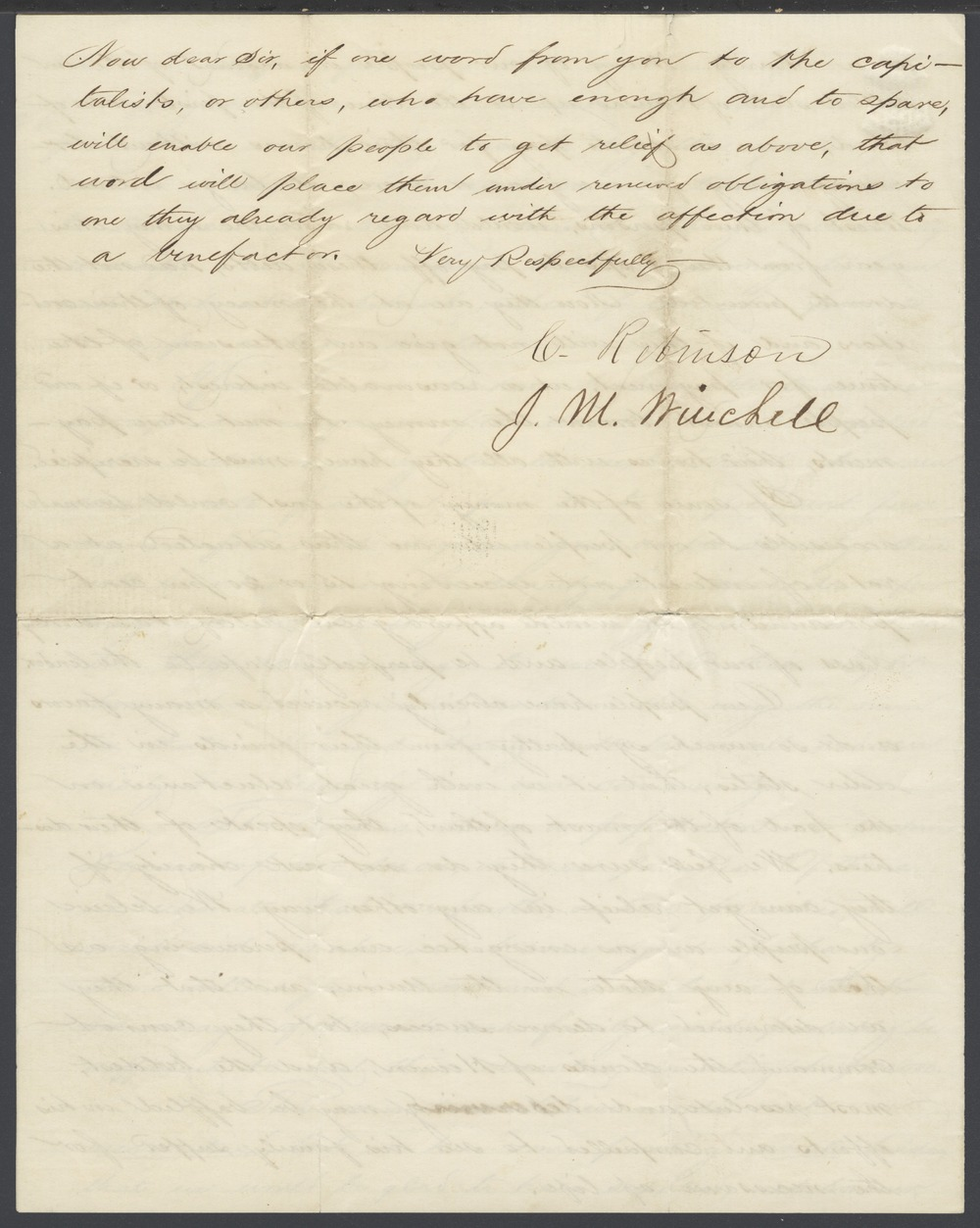 Charles Robinson and James M. Winchell to William H. Seward - 4