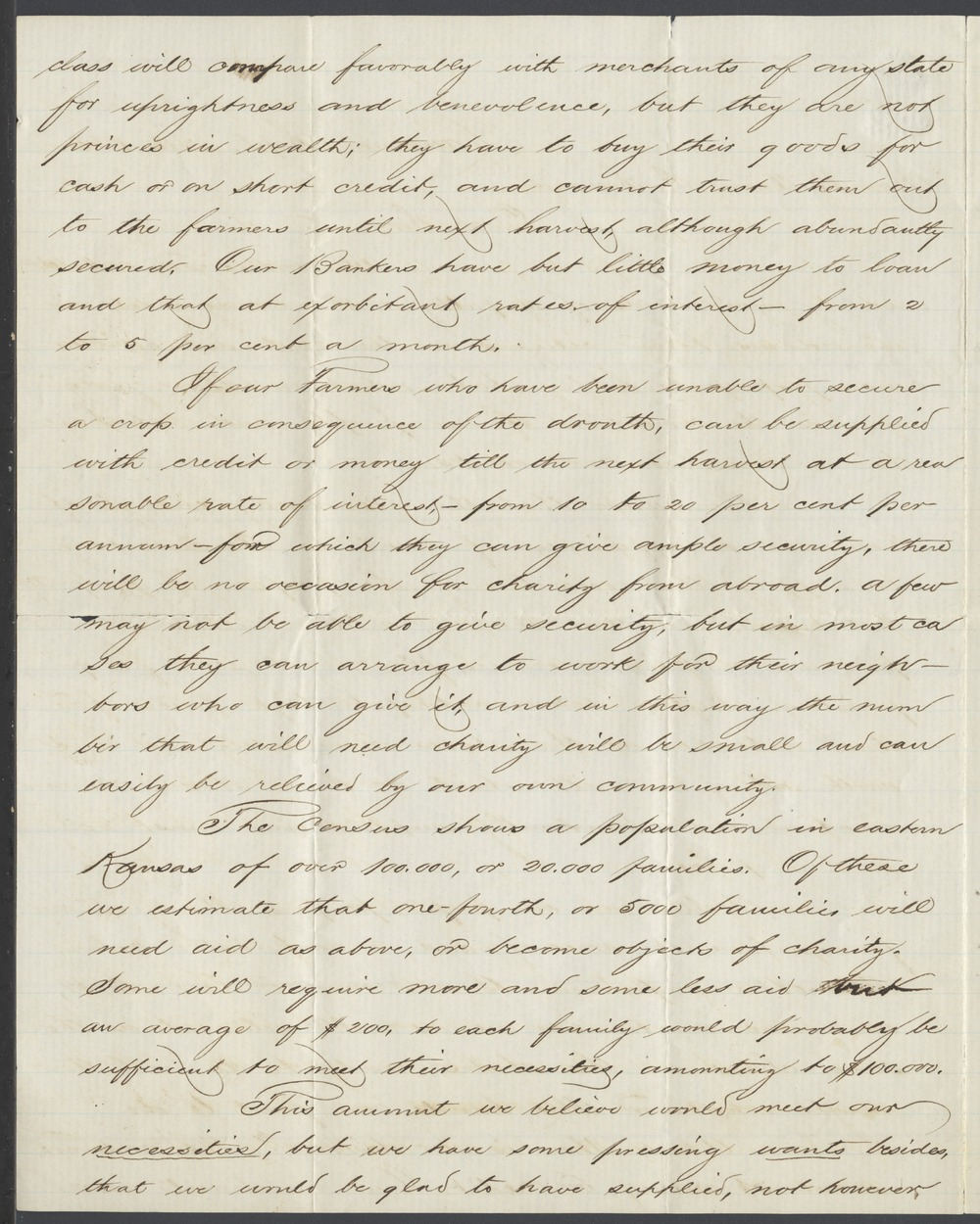 Charles Robinson and James M. Winchell to William H. Seward - 2