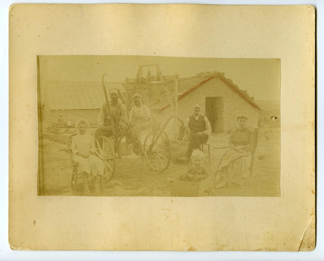 Dorsey Fulton family, Ogallah, Kansas - 1