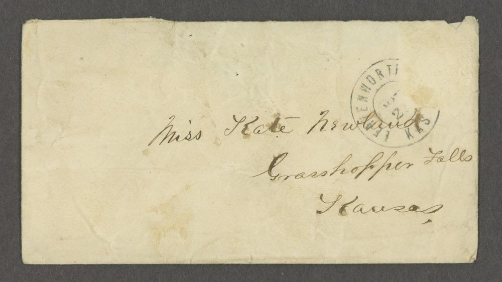 Lewis Stafford to Kate Newland correspondence - 3